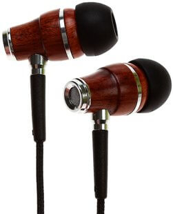 Symphonized NRG Premium Genuine Wood In-ear Noise-isolating Headphones|best cheap earbuds