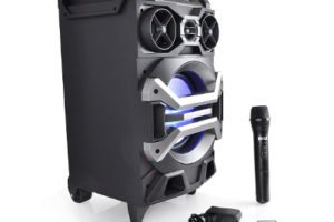 Pyle 500 Watt Outdoor Portable Bluetooth Karaoke Speaker System