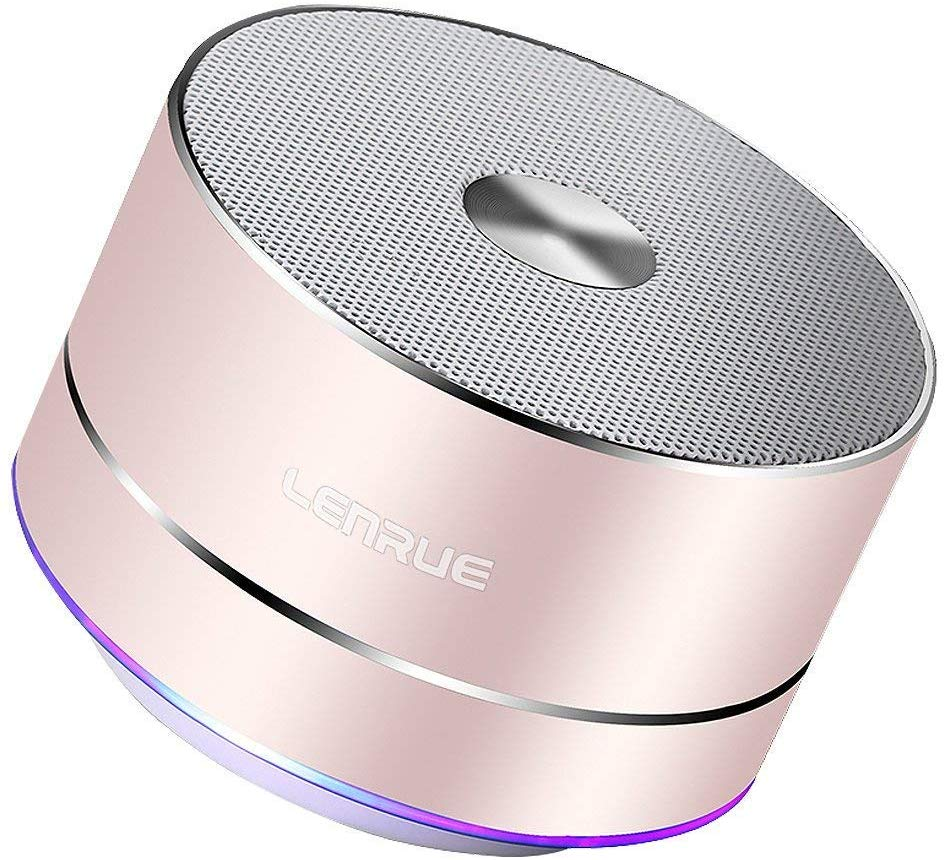 A2 LENRUE Portable Wireless Bluetooth Speaker with Built in Mic