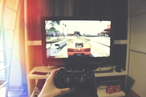 person playing a game